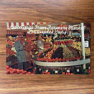 Vintage LA California Souvenir Travel Postcard